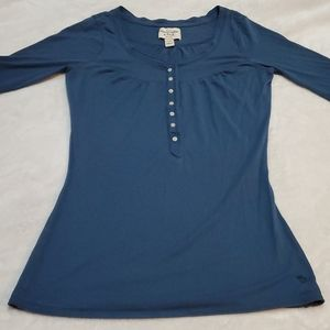 Abercrombie & Fitch button front top